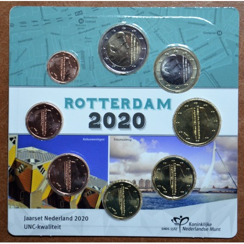 Netherlands 2020 - Rotterdam set of 8 coins  (UNC)