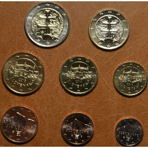 Set of Slovak coins 2016 (UNC)