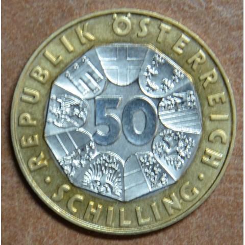 Austria 50 schilling 2001 (UNC)
