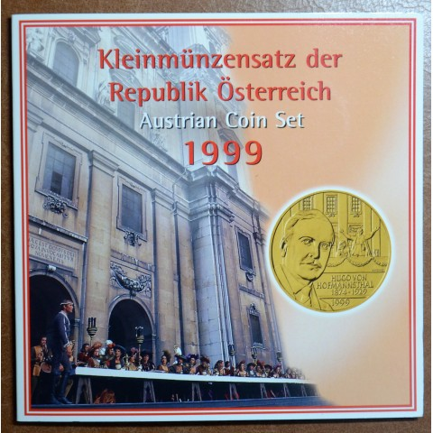 Austria 1999 set of 6 coins ATS (BU)