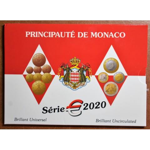Monaco 2020 set of 8 coins (BU)