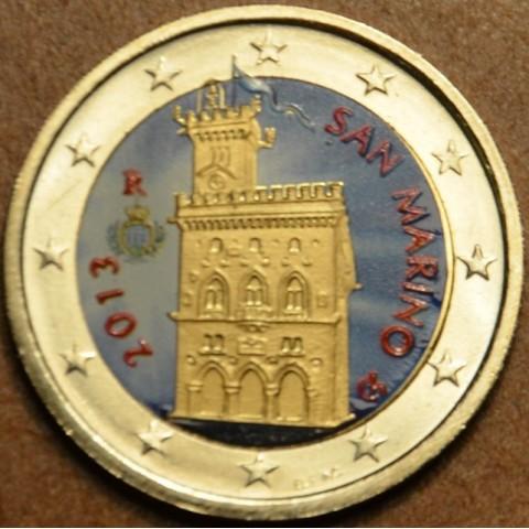 2 Euro San Marino 2013 - Government House (colored UNC)
