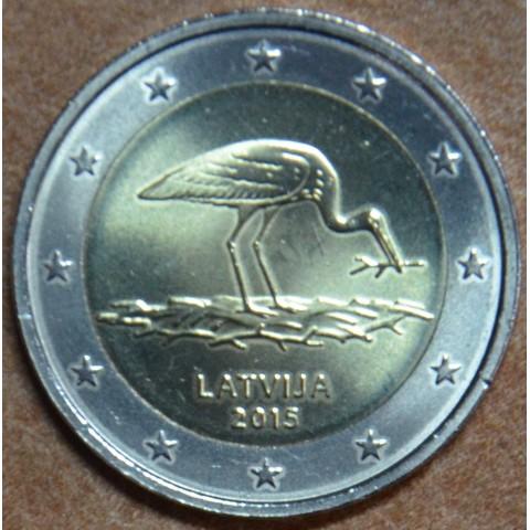 2 Euro Latvia 2014 - Black stork (UNC)