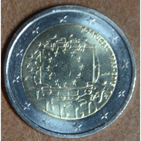 2 Euro Portugal 2015 - 30 years of European flag (UNC)