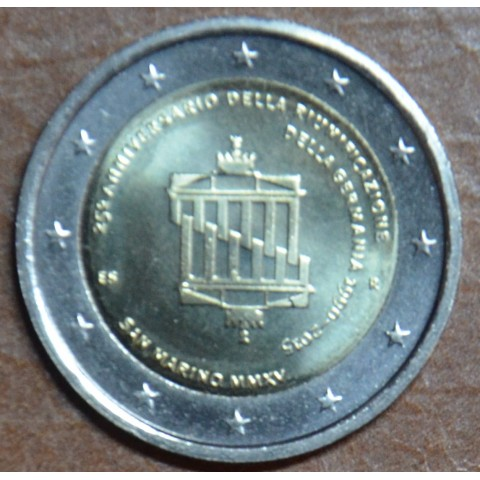 2 Euro San Marino 2015 - German Reunification (UNC without folder)