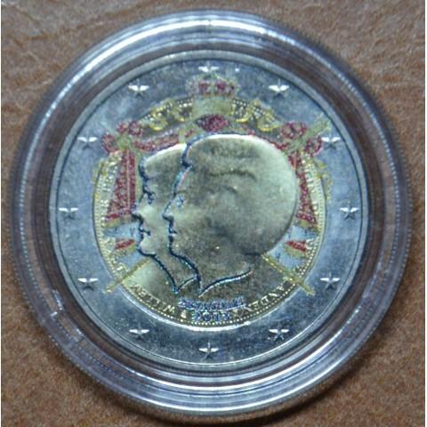 2 Euro Netherlands 2013 - Double portrait II. (colored UNC)
