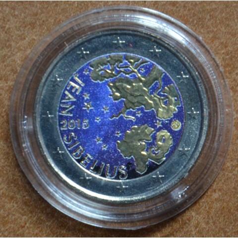 2 Euro Finland 2015 - Jean Sibelius V. (colored UNC)