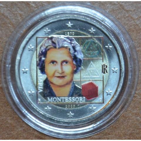 2 Euro Italy 2020 - Maria Montessori (colored UNC)