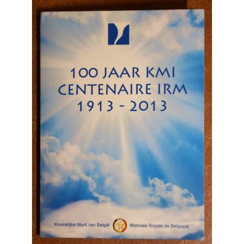 2 Euro Belgium 2013 - 100th anniversary of the Royal Meteorological Institute (BU card)