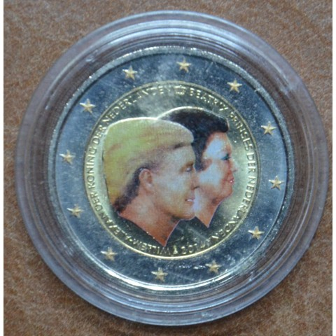 2 Euro Netherlands 2014 - Double portrait (colored UNC)
