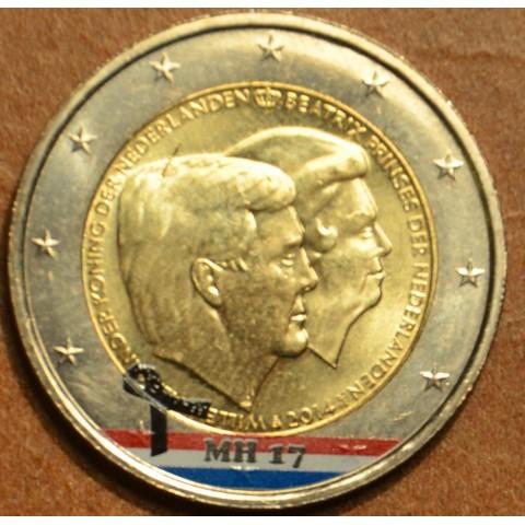2 Euro Netherlands 2014 - Double portrait IV. (colored UNC)