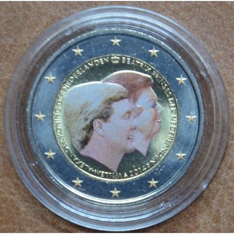 2 Euro Netherlands 2014 - Double portrait V. (colored UNC)