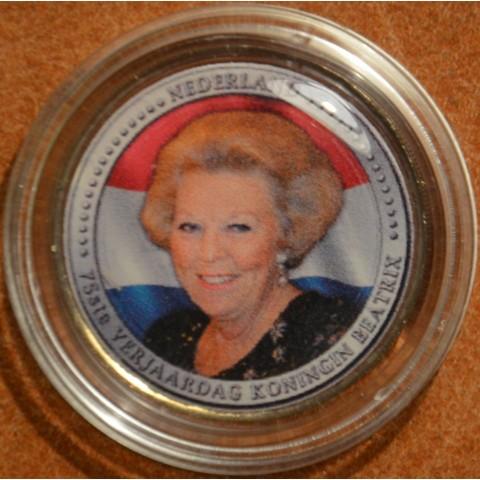 2 Euro Netherlands série Kingdom - Beatrix (colored UNC)