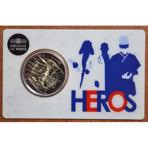 2 Euro France 2020 - Medical research: Heros (UNC)
