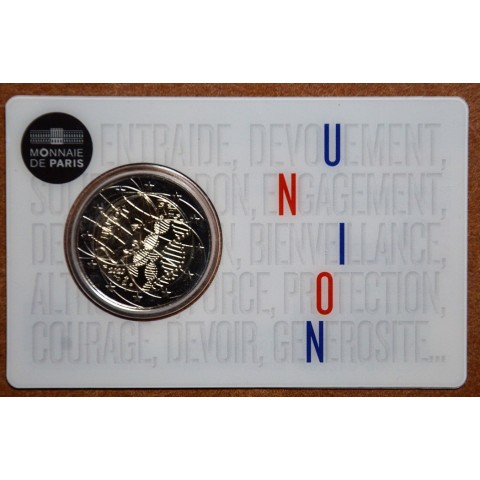 2 Euro France 2020 - Medical research: Union (UNC)