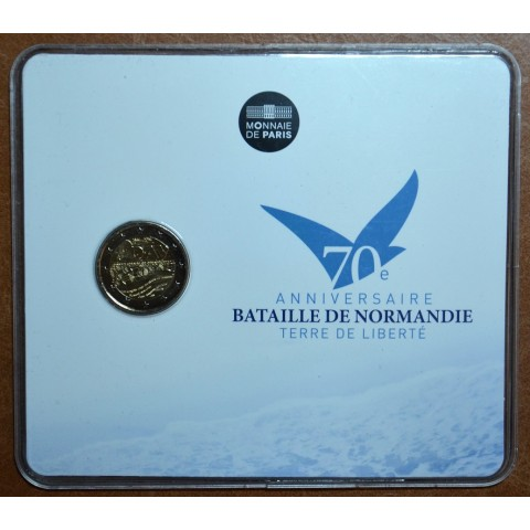 2 Euro France 2014 - 70th Anniversary of the D-Day (BU card)