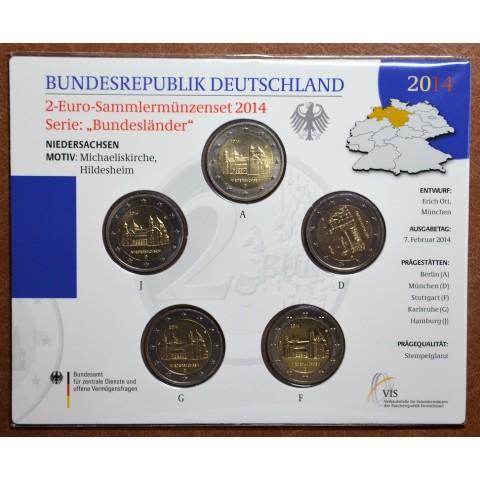 2 Euro Germany 2014 - St. Michael church - Niedersachsen (BU card)
