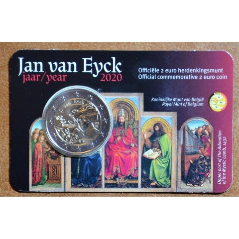 2 Euro Belgium 2020 - Jan van Eyck (BU - dutch side)