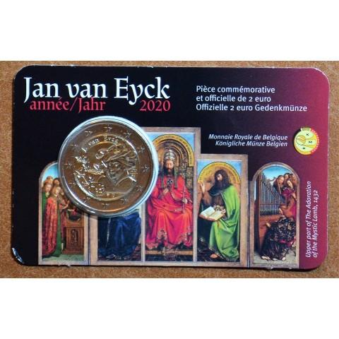 2 Euro Belgium 2020 - Jan van Eyck (BU - french side)