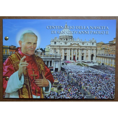 2 Euro Vatican 2020 - 100th Anniversary of the Birth of John Paul II (Numisbrief)