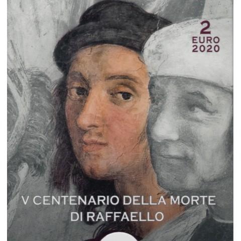 2 Euro Vatican 2020 - Raffaello Sanzio (Proof)