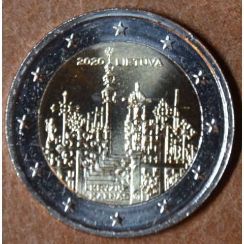 2 Euro Lithuania 2020 - Hill of Crosses (UNC)