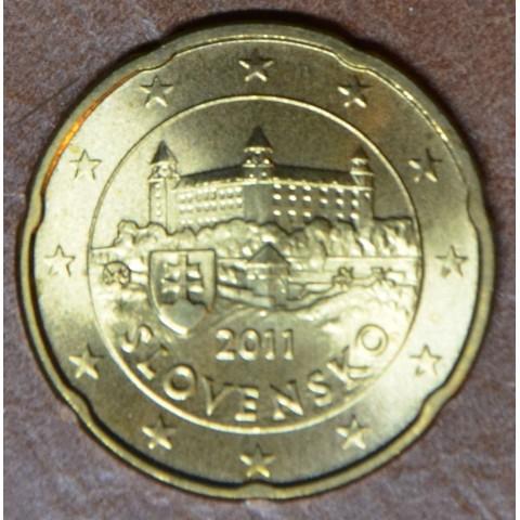 20 cent Slovakia 2011 (UNC)