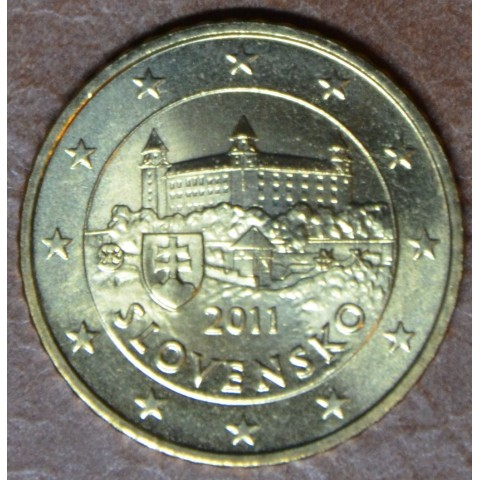 50 cent Slovakia 2011 (UNC)