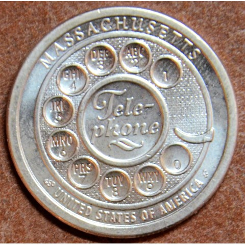 "1 dollar USA ""P"" 2020 American Innovation - Massachusetts ""P"" (UNC)"