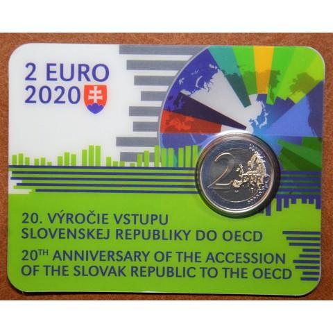 2 Euro Slovakia 2020 - Accession to the OECD (BU)