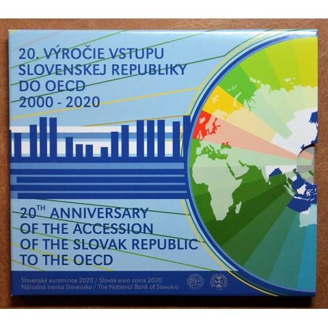 Slovakia 2020 set of coins - OECD (BU)