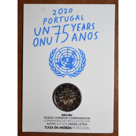 2 Euro Portugal 2020 - 75 years United Nations (BU)