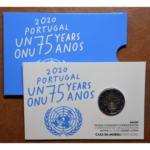 2 Euro Portugal 2020 - 75 years United Nations (Proof)