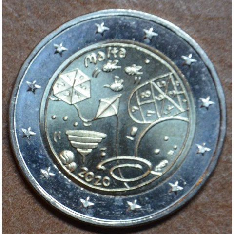 2 Euro Malta 2020 Games with french mintmark (UNC)