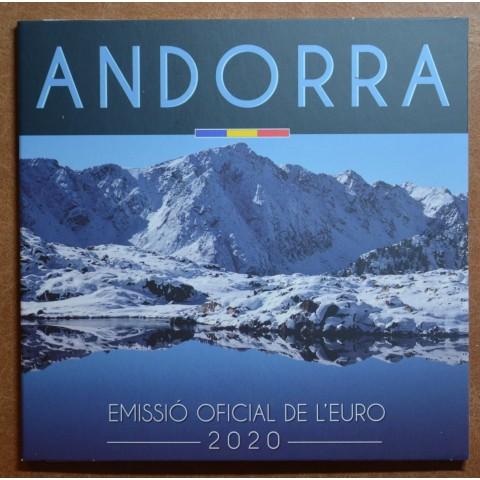 Set of 8 Euro coins Andorra 2020 (BU)