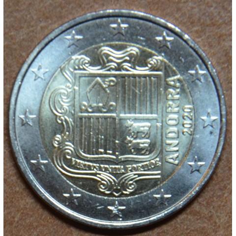 2 Euro Andorra 2020 (UNC)