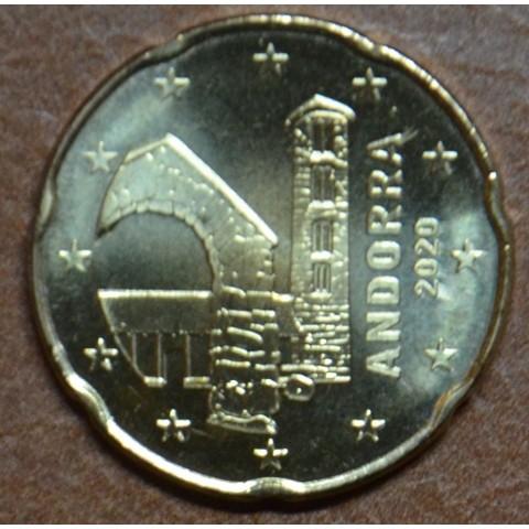 20 cent Andorra 2020 (UNC)