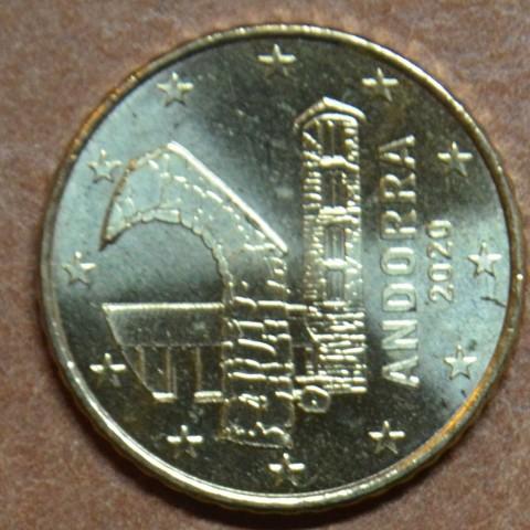 50 cent Andorra 2020 (UNC)