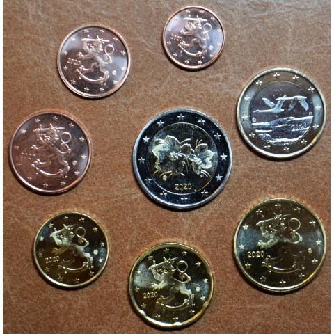 Set of 8 eurocoins Finland 2020 (UNC)