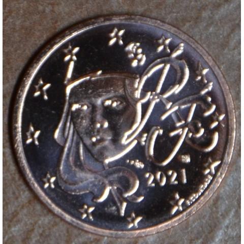 1 cent France 2021 (UNC)