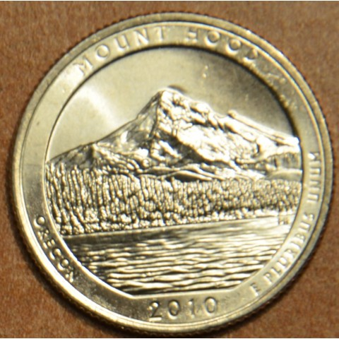 "25 cent USA ""D"" 2010 Mount Hood (UNC)"