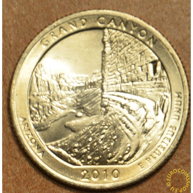 "25 cent USA ""D"" 2010 Grand Canyon (UNC)"