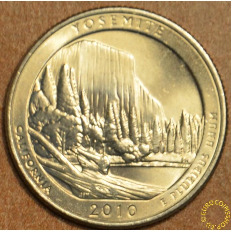 "25 cent USA ""D"" 2010 Yosemite (UNC)"