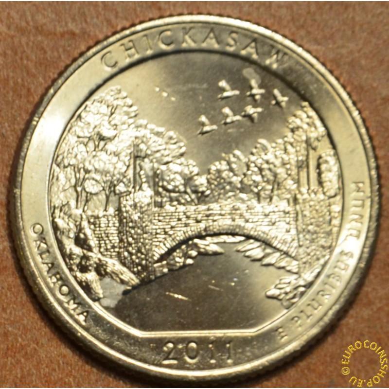 "25 cent USA ""D"" 2011 Chickasaw (UNC)"