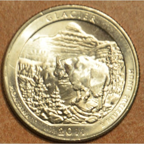 "25 cent USA 2011 Glacier ""S"" (Proof)"