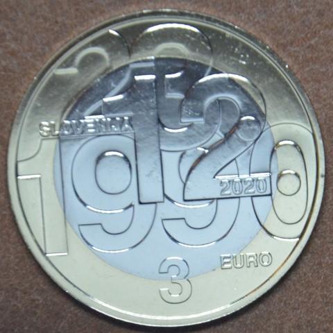 3 Euro Slovenia 2020 (UNC)