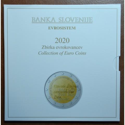 Set of 10 coins Slovenia 2020 (BU)