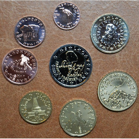 Set of 8 coins Slovenia 2020 (UNC)