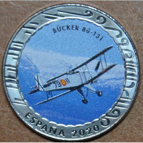 5 x 1,5 Euro Spain 2020 Historia de la Aviacion serie II. (BU)
