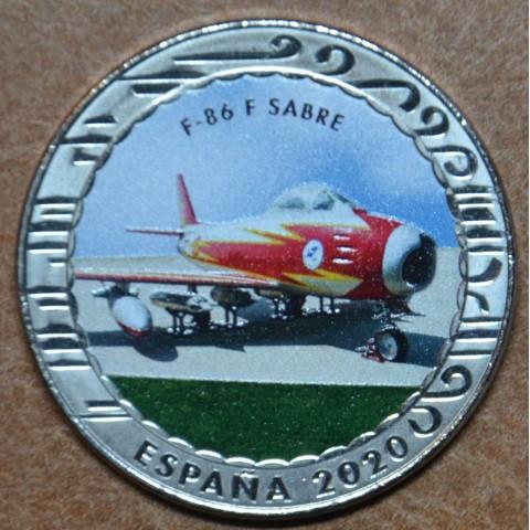 5 x 1,5 Euro Spain 2020 Historia de la Aviacion serie III. (BU)